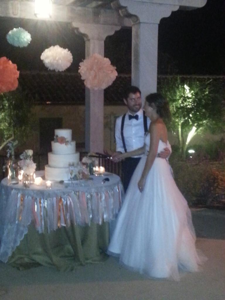 Cake Amanda & Justin