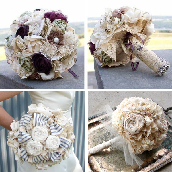 Wedding Bouquets Without Flowers