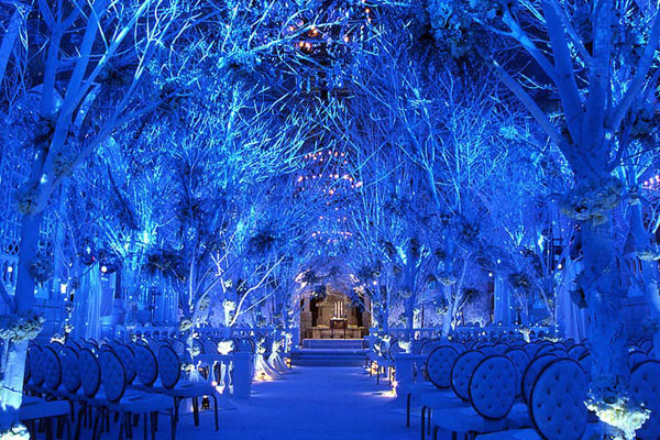 Since Its The Winter Season And Place Is Surrounded By Nothing But Pure White Snow Make Sure To Add A Splash Of Colors That Will Your Wedding