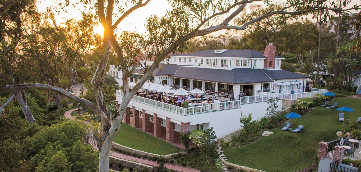 Santa Barbara Wedding venue, The Belmond El encanto in spring