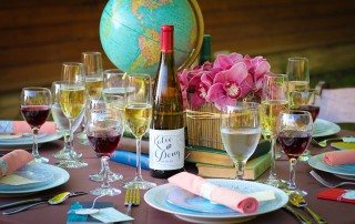 around-the-world-travel-wedding-table