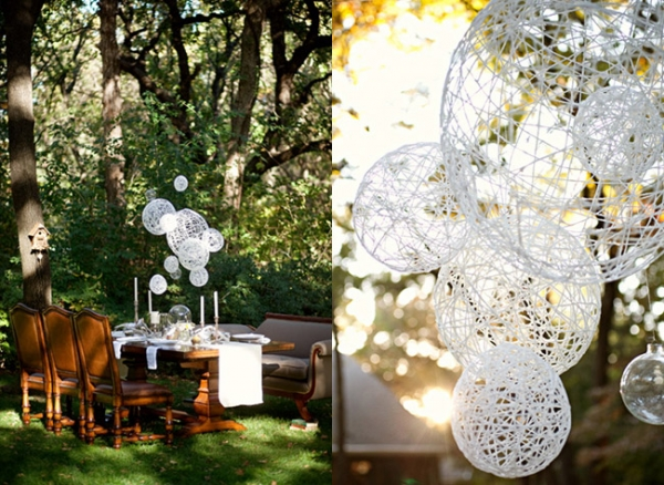 Good Make A Lot And Hang Them With A Light Bulb If You Must In Differing Lengths  To Make A Nice Decoration. Budget Wedding Tips