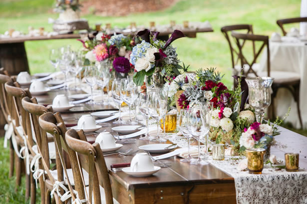 Backyard Weddings Rustic Country Backyard Wedding Ideas Induced Info