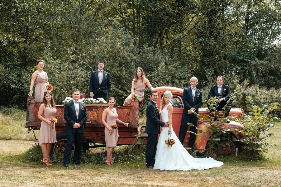 Rustic Backyard Wedding Ideas For Fall