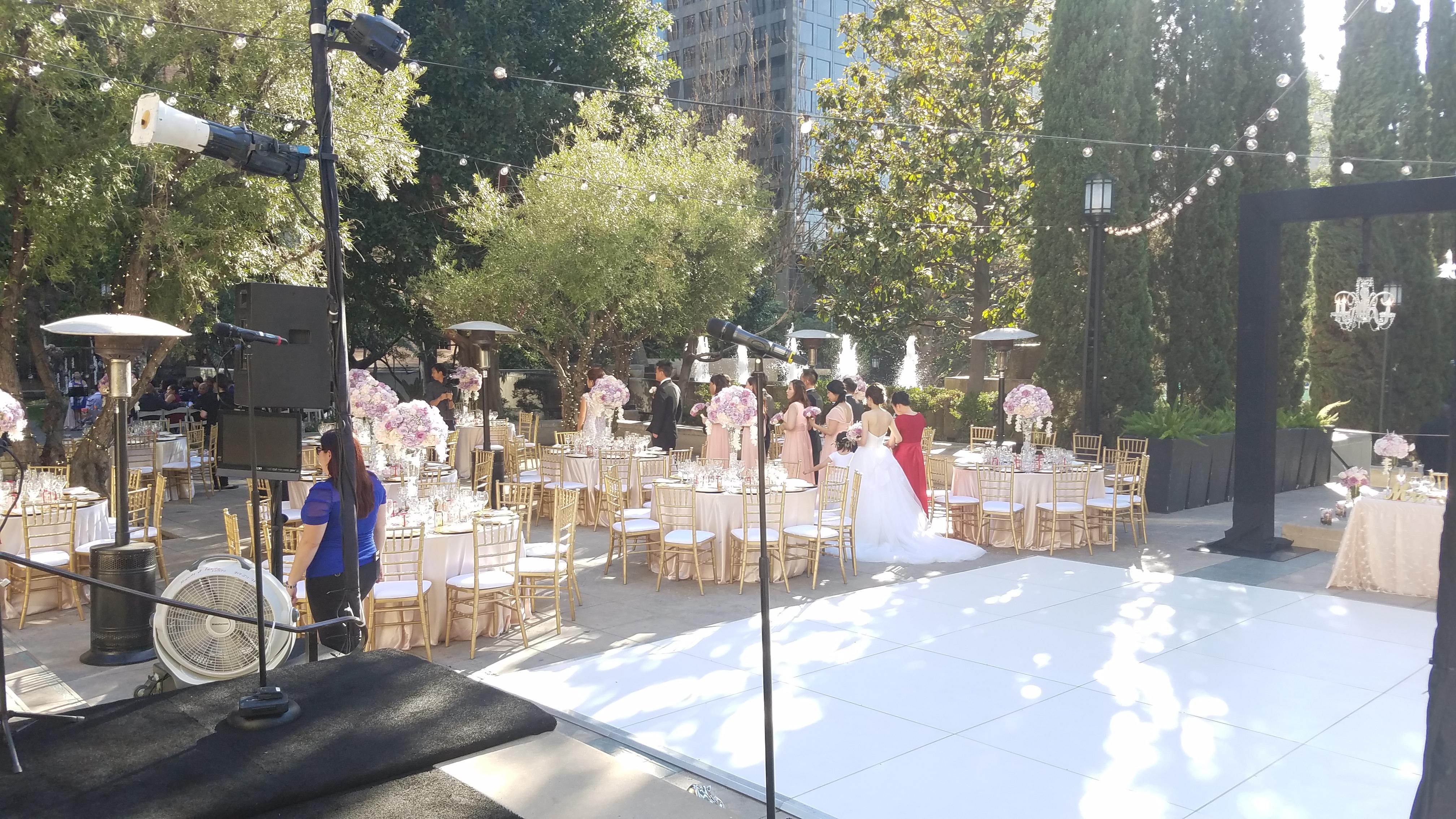 Tokyo american club wedding