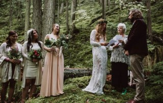 Forest-Themed Wedding Entertainment