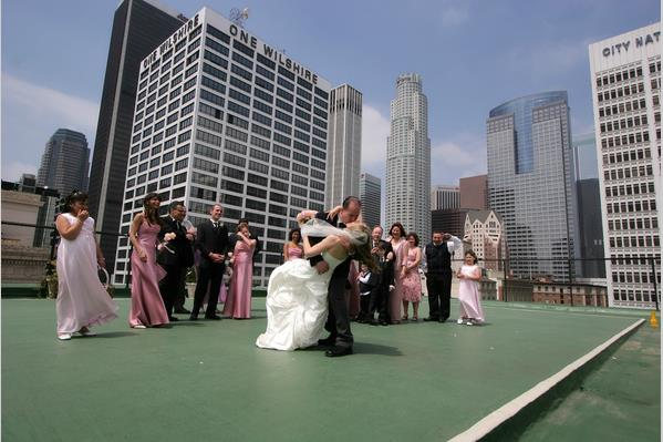 wedding venue rooftop