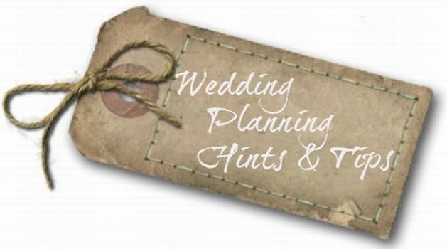 Wedding Planning Hints