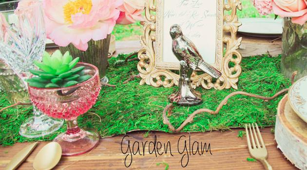 Garden Glam Wedding
