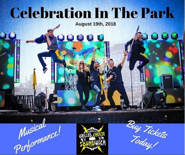 Grilled Cheese Soundwich to rock Celebration in the Park charity