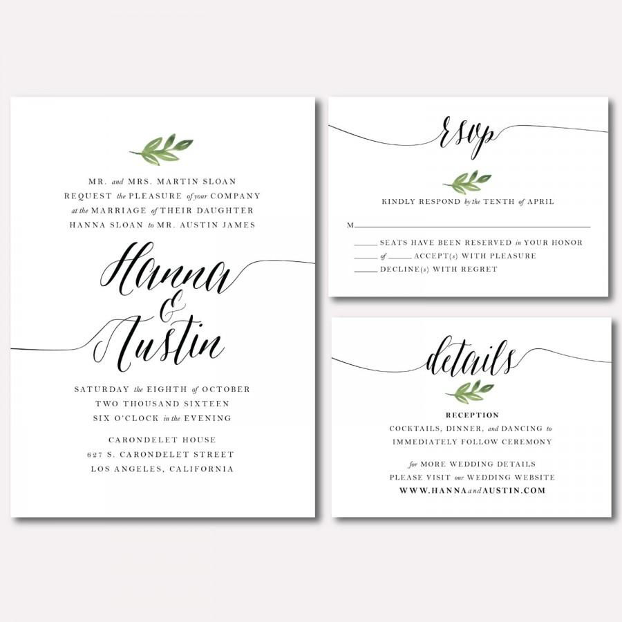 Gold Coast Wedding Invitations: CHEAT SHEET: MINIMALIST WEDDING THEME 2018