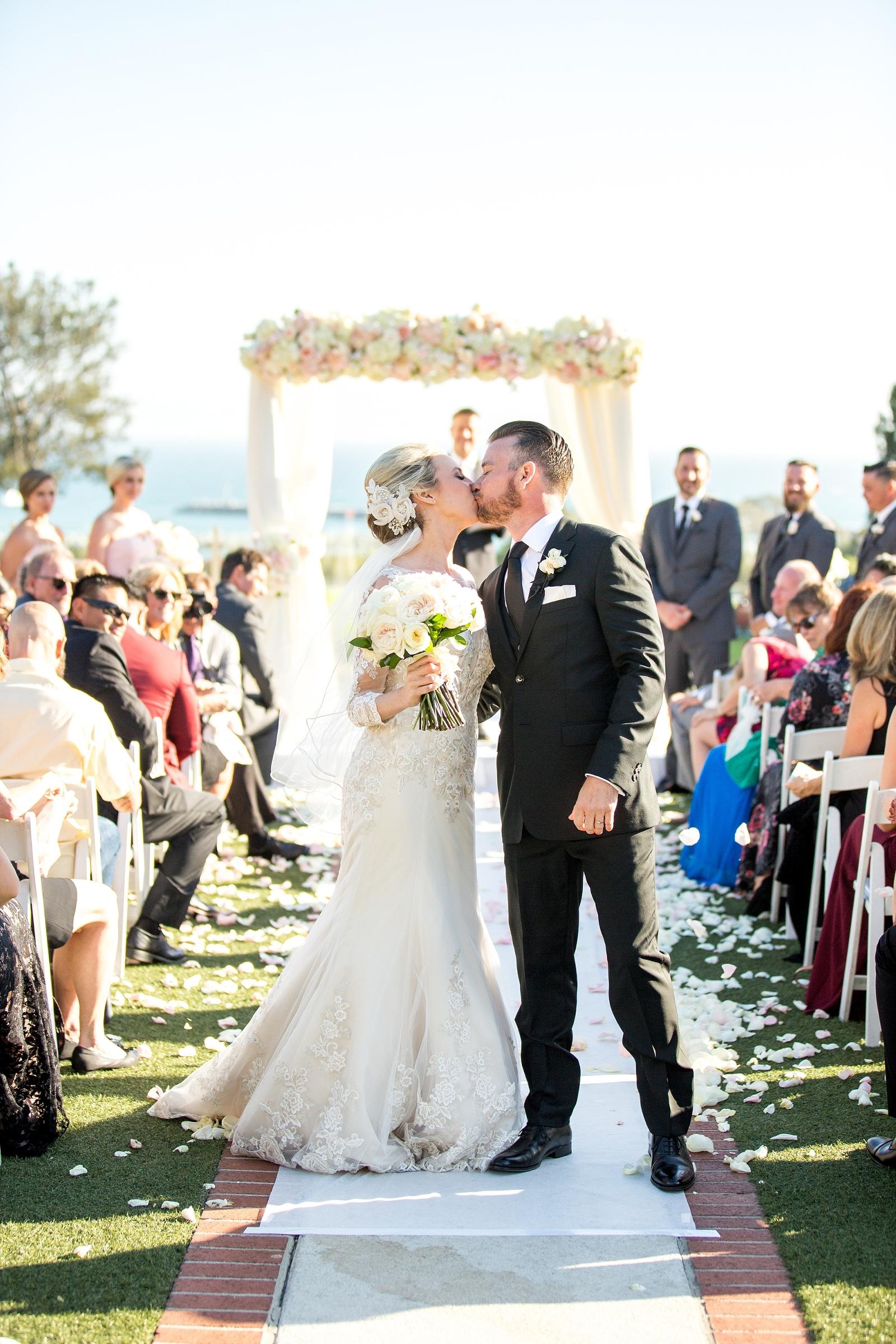 Laguna Cliffs Marriott Wedding Reception Entertainment