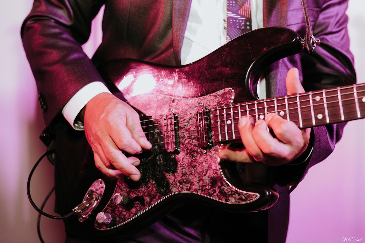Undercover Live Sound Man Wedding Guitar