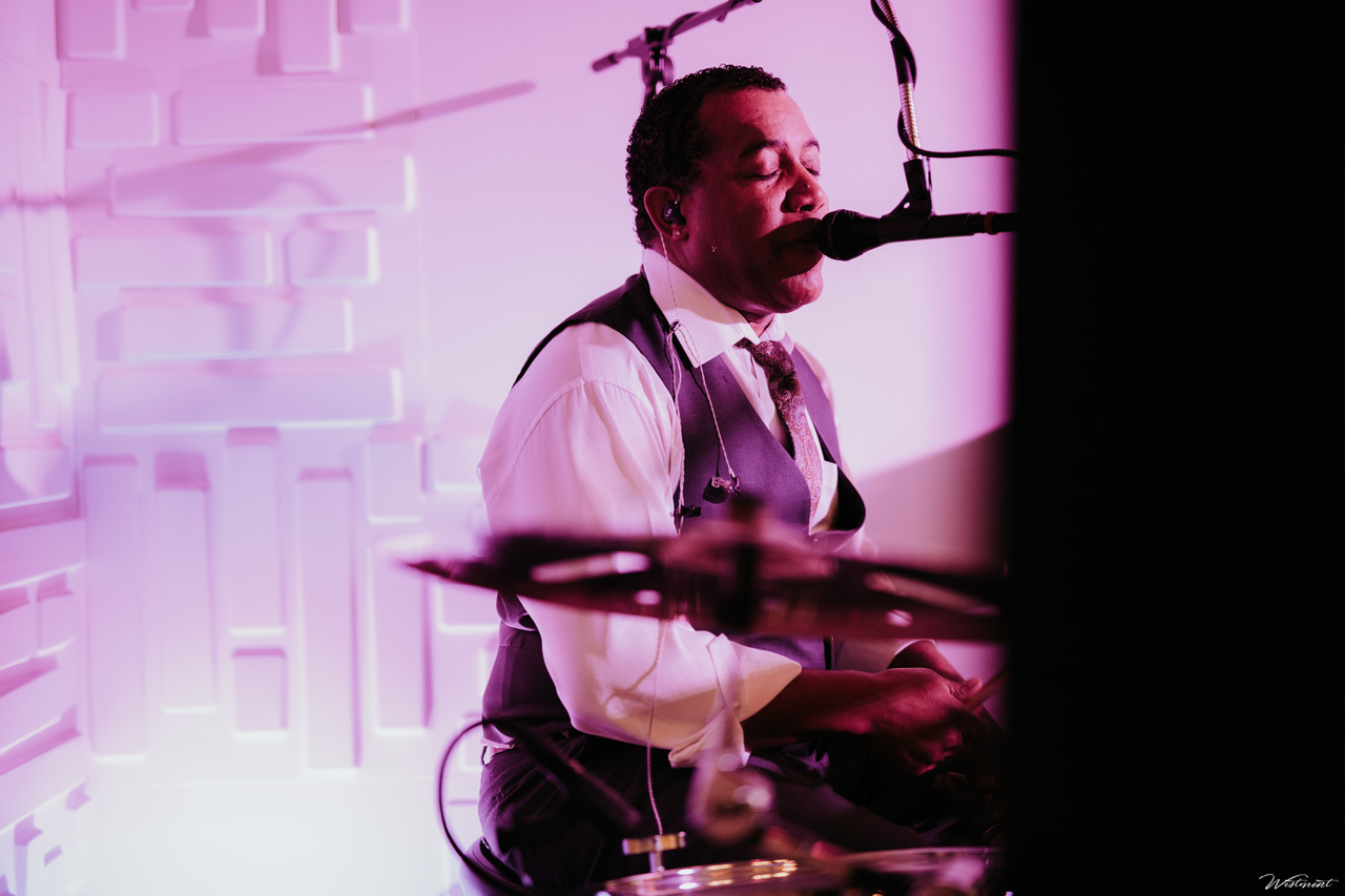 Undercover Live Sound Man Wedding drummer