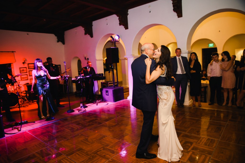 Casa Romantica wedding entertainment