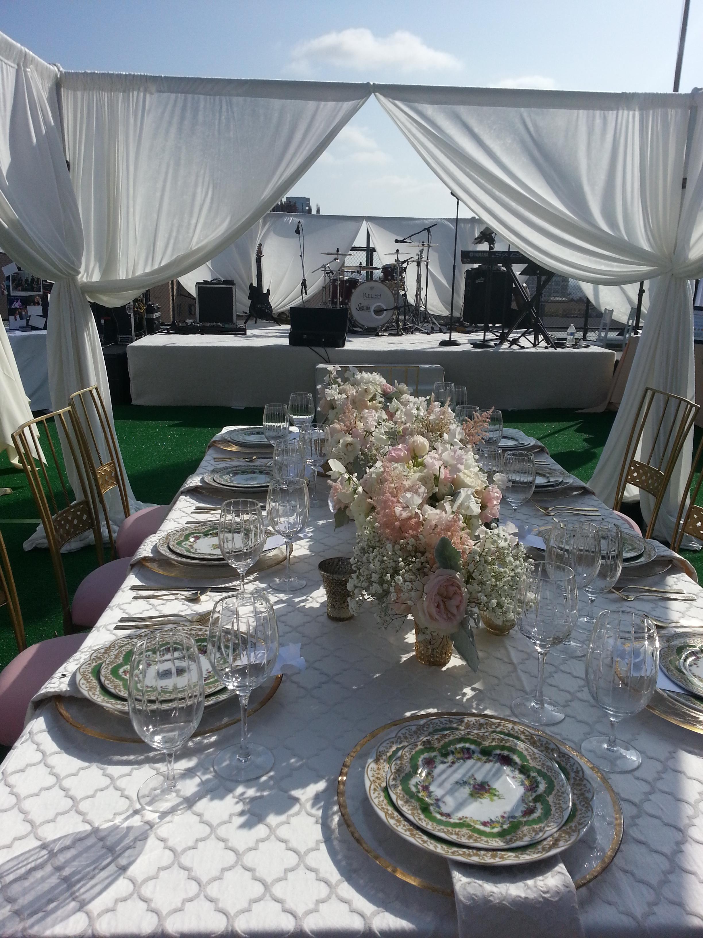 Los Angeles Rooftop Wedding