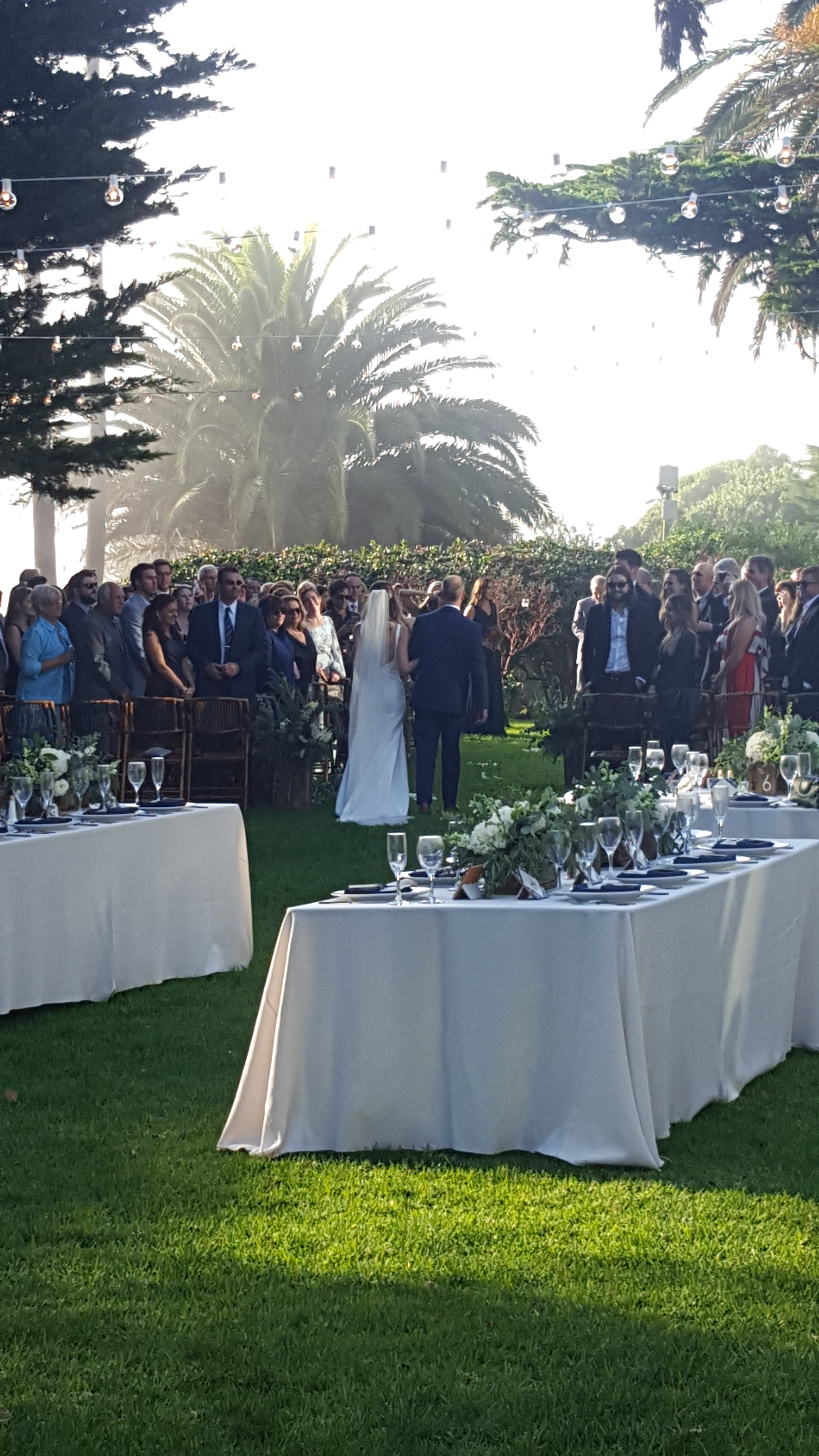 San Clemente Wedding Band